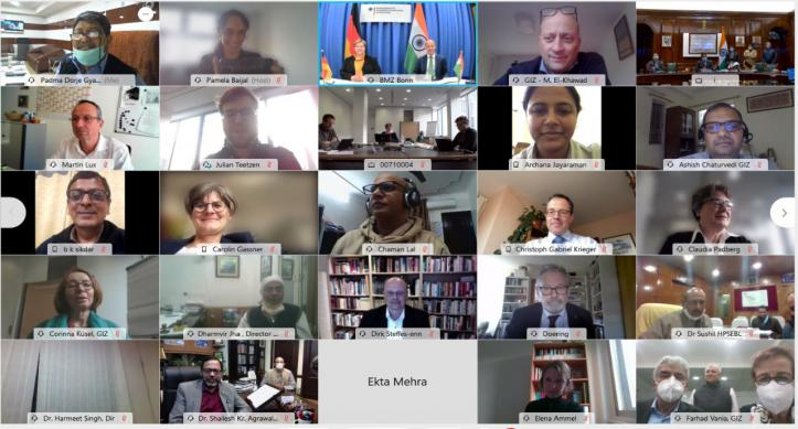 Indo-German Annual Negotiation Meeting  on 27-11-2020- through Video Conferencing